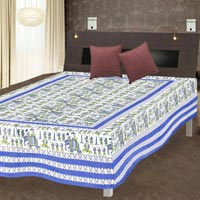 Traditional Printed Single Bed Sheet