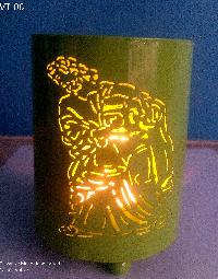 Brass Handcrafted Candle Votive