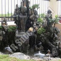 Fiberglass Waterfall Fountain