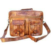 Leather Vintage School Bag