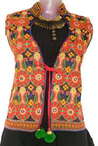 Ladies Embroidered Jacket