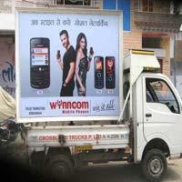 Mobile Advertising Van