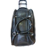 Genuine Leather Trolley Bag