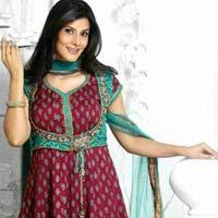 Bandhani Anarkali Suit