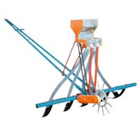 Animal Driven Seed Drill Machine