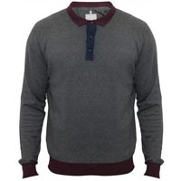 Mens Knitted Full Sleeve Polo T-Shirts