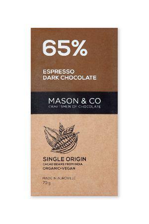 Espresso Dark Chocolate Bar