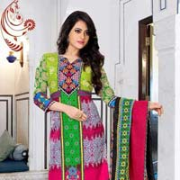 Cotton Printed Ladies Suits