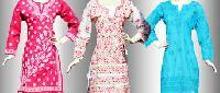 Lucknowi Chikan Dress Material