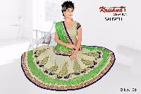 Embroidered Lycra Sarees