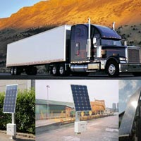 Solar Powered Weighbridge System