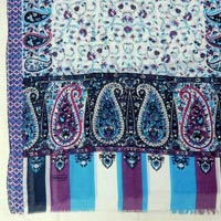 Printed Cotton Voile Stoles