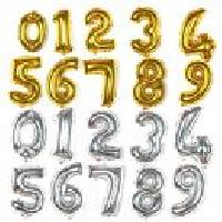 Letters & Number Balloons