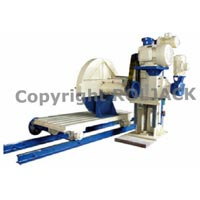 Single Pillar Block Cutting Machine