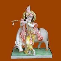 Marble Krishna Statue