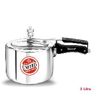 2 Litre Regular Aluminium Inner Lid Pressure Cooker