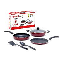 United Non-stick 3mm Heavy Gauge Cookware Set