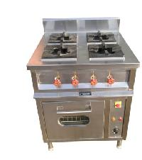 4 Burner Continental Cooking Range With Oven