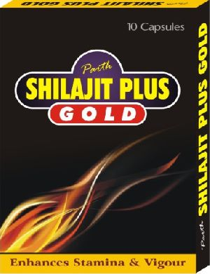 Parth Shilajit Plus Gold Capsules