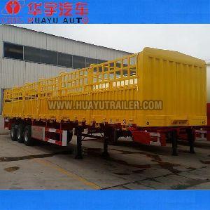 3 axle stake semi trailer