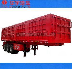 3 axle tipping semi trailer