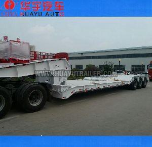 Goosneck Disconnectable Low Bed Semi Trailer