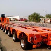 Heavy Duty Hydraulic Axle Trailer