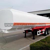 Two Axle Chemical Liquid Tanker Semi Trailer