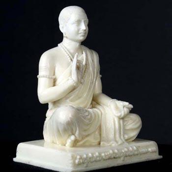Sri Guru Basaveshwara Marble Statue