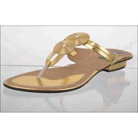 Concentric Flat Ladies Slippers