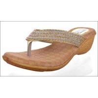 Diamond Wedges Heels Ladies Slippers