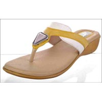 T Shape Low Heels Ladies Slippers