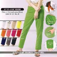 Cotton Linen Trouser Women