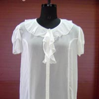 Ladies Half Sleeve Tops