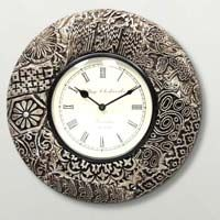 wooden art Wall clock