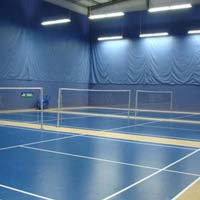 Badminton Court Lighting System