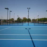 Tennis Court Lighting System