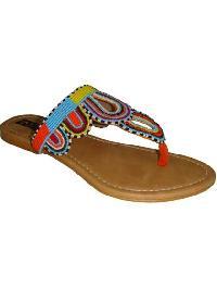 Beaded Ladies Slippers