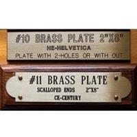Brass Name Plates