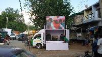 Led Mobile Van On Hire