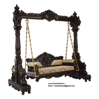 Carved Antique Swing