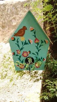 Metal Bird House