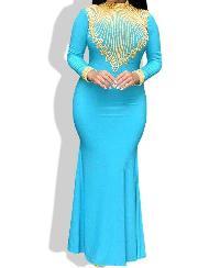 Lycra Lace dress 4
