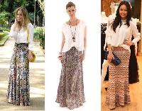 Ladies Viscose Skirts