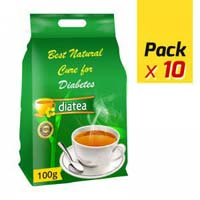 Diabetic Plain Tea (100g - 10 Pack)
