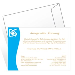 Invitation Cards (screen Printing)
