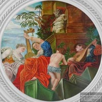 Reproduction Painting of an Old Painting