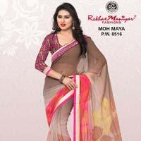Rekhamaniyar Fashions Chiffon Fancy Printed Saree 8516