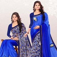 RekhaManiyar Fashions Designer Reversable Saree 8532