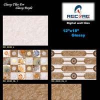 12x18 Glossy Series Bathroom Wall Tiles